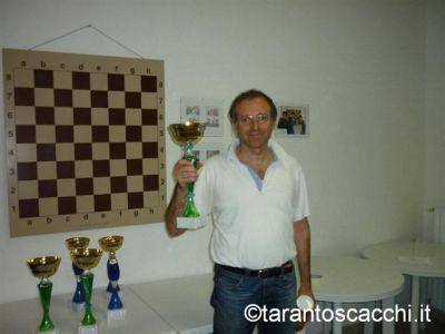 Piero Certo, primo classificato